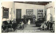Arizona Living Rooms Kenyon Guest Ranch Tubac 1940s RPPC Photo Postcard 6811