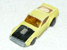 VINTAGE MATCHBOX Superfast No. 44 BOSS Mustang 1972 MOLTO RARO