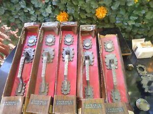VINTAGE Dexter SCHLAGE ENTRANCE HANDLE SET NEW IN BOX D36 Florian Sp-513 Morocco