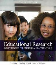 Educational Research : Competencies for Analysis and Applications by Lorraine...