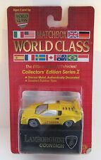 Matchbox Superfast 67f Lamborghini Countach - YELLOW - World Class Series - MoC