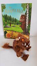 The Gruffalo Soft Toy Bundle Sitting 7-Inch  & Gruffal Book Julia Donaldson Book