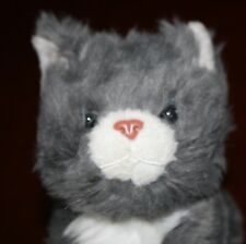 "6"" American Girl Pet Cat Himalayan Gray W Poseable legs & head - 2014 CHD559"
