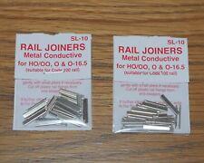 Peco SL-10  00 Gauge Rail Joiners Fishplates, 2 packs, code 100 also for 0 Gauge