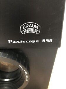 Braun Paxiscope 650