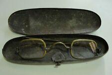 Antique Civil War Era Brass Spectacles