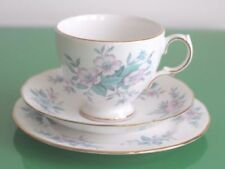 Tea Trio Blue Vintage Original Porcelain & China