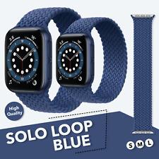 Solo Loop Sport Armband für Apple Watch Series 1- 6 & SE / 42-44mm - BLUE