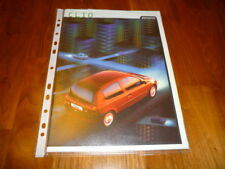 Renault Clio Prospekt 07/1999