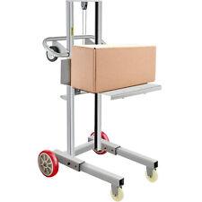 Vevor 400lbs Manual Winch Stacker Aluminum Lite Load Lift Winch 47 57 Height