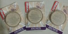 3 × RIMMEL STAY MATTE TRANSPARENT PRESSED POWDER - New