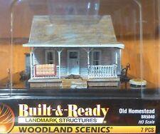 Woodland Scenics HO #5040 Old Homestead - Built-&-Ready Landmark Structures