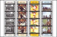 San Marino 1995 Cinema/Films/Trains/Railw ay/Cartoon/Actors/People 16v sht n43549