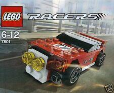 LEGO RACERS Roter Rennwagen Nascar 7801