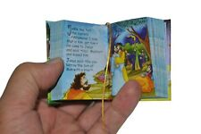 New Children's Bible Set of 2 New and Old Testament Miniature Books with stand
