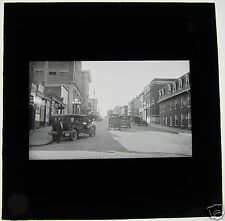 Nice Glass Magic lantern slide SAN FRANCISCO STREET SCENE C1920 USA AMERICA