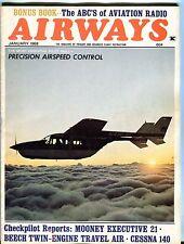 Airways Magazine January 1968 Mooney Executive 21 EX No ML 042917nonjhe