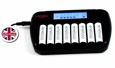Japcell BC-800s Intelligent Battery Charger for 8 x AA / AAA NiMH batteries