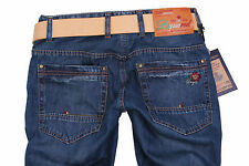 Brand New Exclusive d.g:Men's Jeans+Gift Belt Size 36