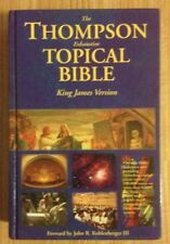 The Thompson Exhaustive Topical Bible by Frank Charles Thompson (1997)