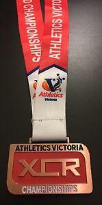 2016 Athletics Victoria 6km Cross Country & Road Championships Medal Boys U16