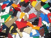 Lego ® Gros lot Vrac 100g Plaque Angle Corner Plate Mix Modèle & Couleur NEW