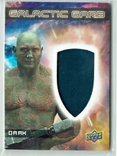 Guardians of the Galaxy Vol 2 Marvel Galactic Garb Costume Card SM-11 Drax SM11