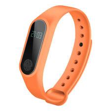 Pulsera Reloj Inteligente Smart Band M2 Podómetro Ritmo cardíaco Bluetooth