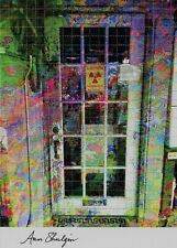 BLOTTER ART ORIGINAL LAB DOOR Signed  BY ANN SHULGIN Perforated Sheet MDMA