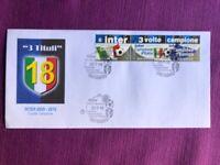 """SAN MARINO 2010 FDC  INTER 3 VOLTE CAMPIONE """"IL TRIPLETE"""""""