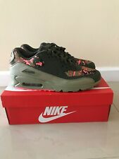 Nike Air Max 90 C Cargo Khaki Pink Mens Running Shoes AH8440-300 Size 11.5 NEW