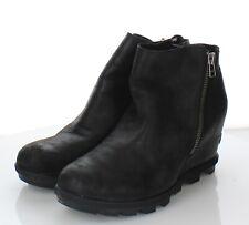 23-61 $200 Women's Size 10 Sorel Joan of Arctic II Leather Wedge Short Boot