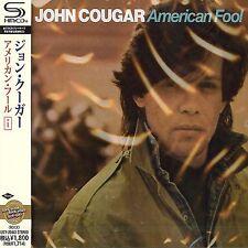 JOHN COUGAR - AMERICAN FOOL +1 - JAPAN JEWEL CASE SHM - CD