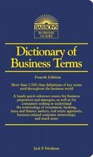 Barron's Business Dictionaries: Dictionary of Business Terms by Jack Friedman...