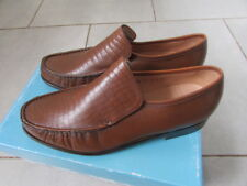 MENS FEATHER MASTER BY GRENSON SLIP ON MOCCASINS  SIZE 9