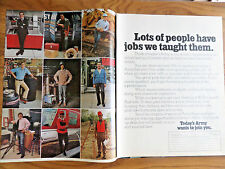 1972 Army Recruiting Ad Lots of People have jobs we Taught Them