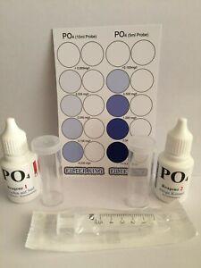 PO4 Phosphat Test Set für ca. 120 Tests
