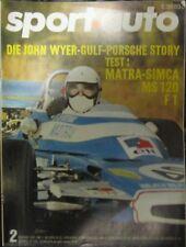 * Sportauto Sport-Auto 2/ 1971 - Test Matra MS 120 + Porsche 911 Tour de France