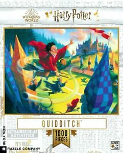Harry Potter Quidditch 1000 Piece Jigsaw Puzzle 489mm x 676mm (nyp)