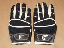Cutters Football Gloves The Gamer Style # 017XT Black White Size M