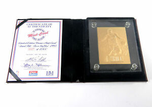 Highland Mint Grant Hill 1995 Skybox Limited Edition Bronze Mint Card #/2,500