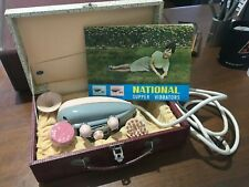 Vintage NATIONAL BODY VIBRATOR MASSAGER in Original Box