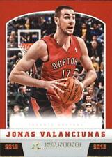 2012-13 Panini #265 Jonas Valanciunas Rookie Card RC Toronto Raptors