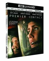 Premier Contact [4K Ultra HD + Blu-Ray + Digital Ultraviolet] // BLU RAY NEUF