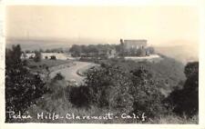 RPPC Padua Hills, Claremont, California ca 1930s Vintage Postcard