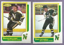 1986-87 OPC O-PEE-CHEE Minnesota North Stars Team Set