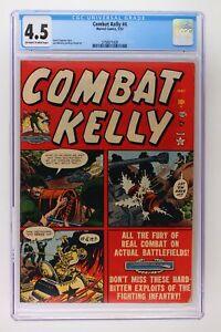 Combat Kelly #4 - Marvel 1952 CGC 4.5 - SINGLE HIGHEST GRADE!