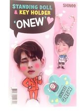 Onew SHINEE Photo Standing Doll Key Holder Set KPOP Min Ho Tae Min Jong Hyun Key