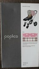 Poplico Reversible Hood Canopy for Bugaboo Cameleon  Pink Spot