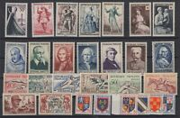 BT142690/ FRANCE – Y&T # 940 / 967 MINT MNH – COMPLETE YEAR 1953 – CV 245 $